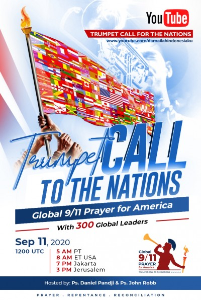 Trumpet Call to the Nations: Global 9/11 Prayer for America